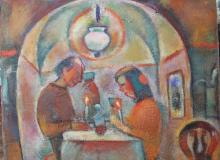 В кафе Старая гавань